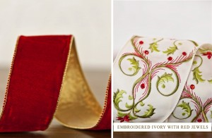 make your dining room more elegant with ribbons