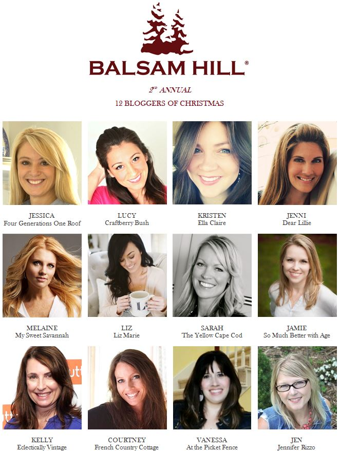 Balsam Hill's 12 Bloggers of Christmas 2014