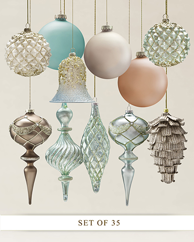 Winter Frost Ornament Set from Balsam Hill