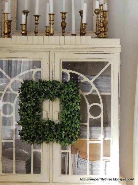 Balsam Hill English Boxwood Wreath