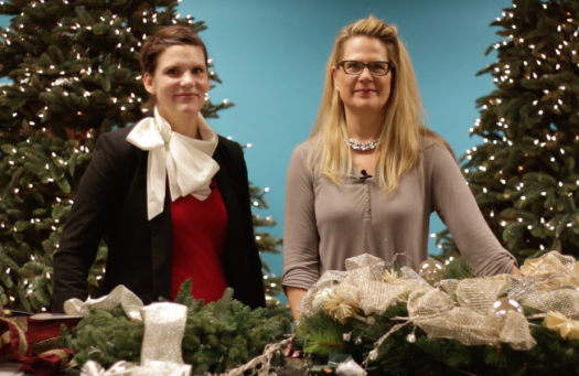 Dagmar Obert and Rachel Faucett for Balsam Hill on Decorating for The Holidays With Kids In Mind