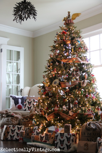 12 bloggers of christmas  kelly elko of eclectically vintage balsam hill artificial christmas