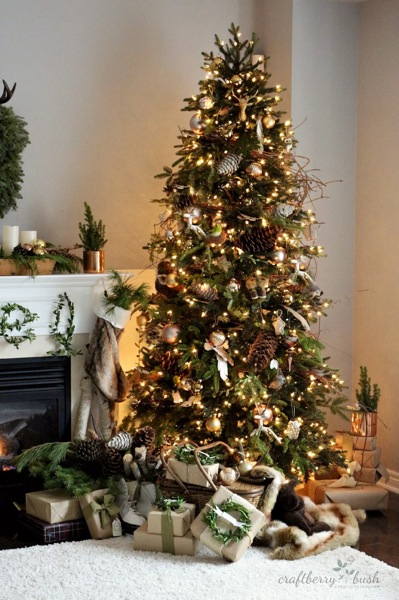 Decorated Balsam Hill Norway Spruce Christmas Tree by Lucy of Craftberry Bush
