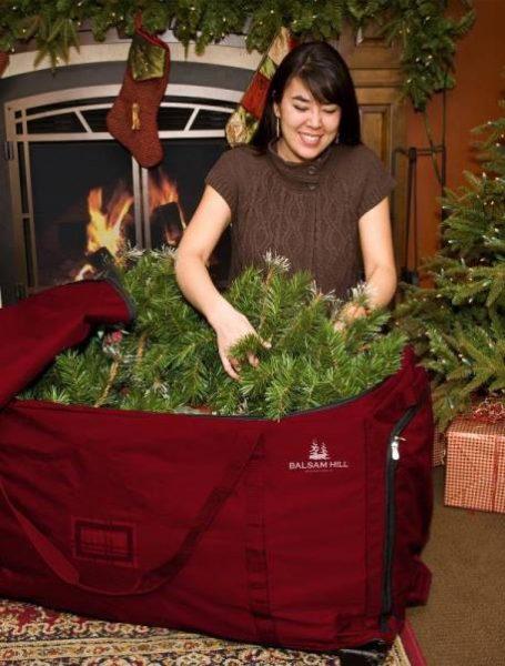 Balsam Hill's Rolling Multipurpose Greenery Bag