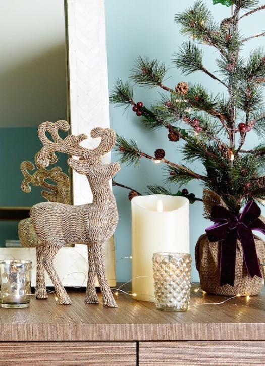 Balsam Hill Crystal Reindeer