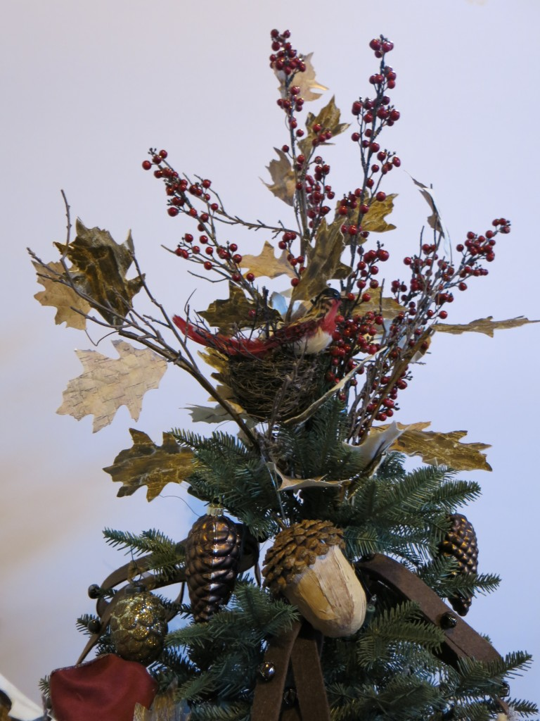 Rustic Artificial Christmas Tree
