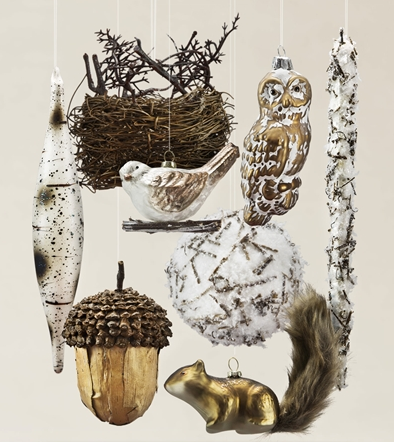 Woodland Ornament Set by Balsam Hill