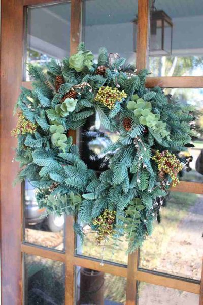 BH Fraser Fir™ Meadow Wreath from Balsam Hill
