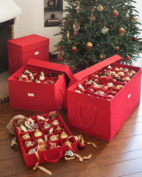 Balsam Hill Ornament Storage Boxes