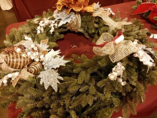 Melisa's decorated wreath
