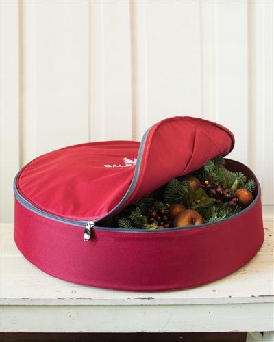Wreath and Garland Storage Bag from Balsam Hill