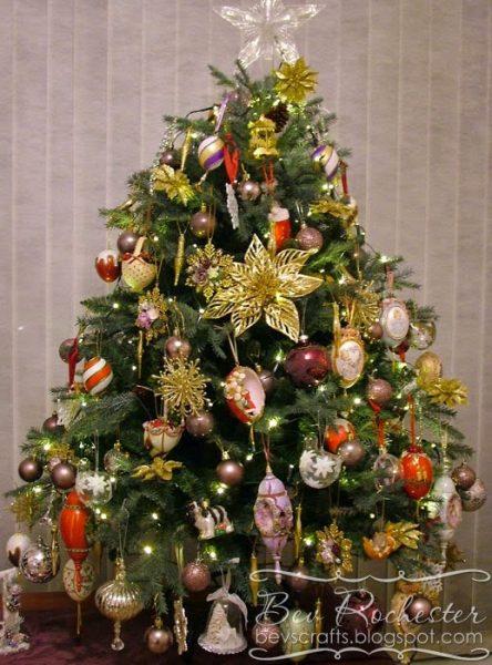 Bev Rochester's St. Moritz Christmas Tree