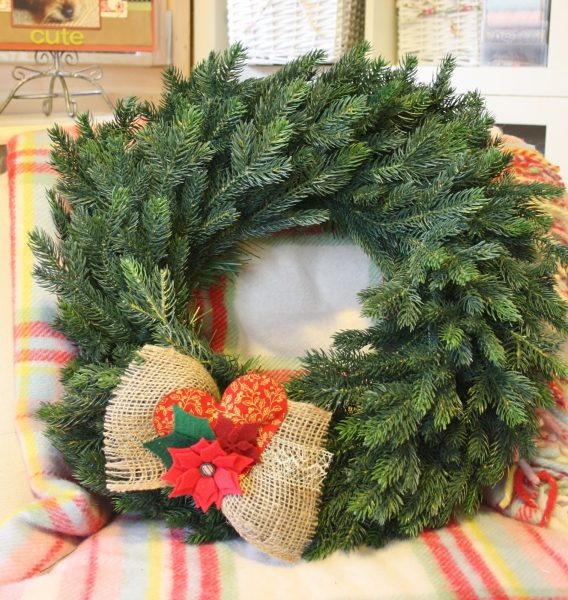Christine Emberson's Norway Spruce Christmas Wreath