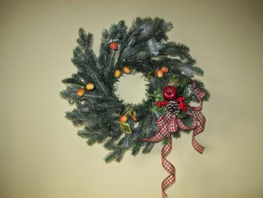Enfys Cashmore's Norway Spruce Christmas Wreath