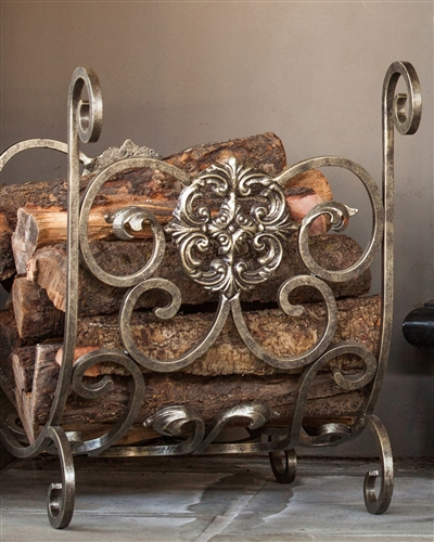 Estate Fireplace Wood Holder from Balsam Hill