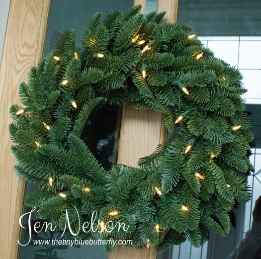 Jen Nelson's Noble Fir Christmas Wreath