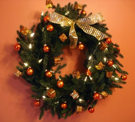 Marianne's Norway Spruce Christmas Wreath