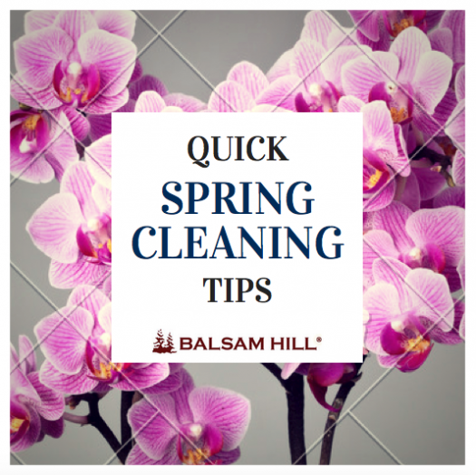 Quick Spring Cleaning Tips by Balsam Hill