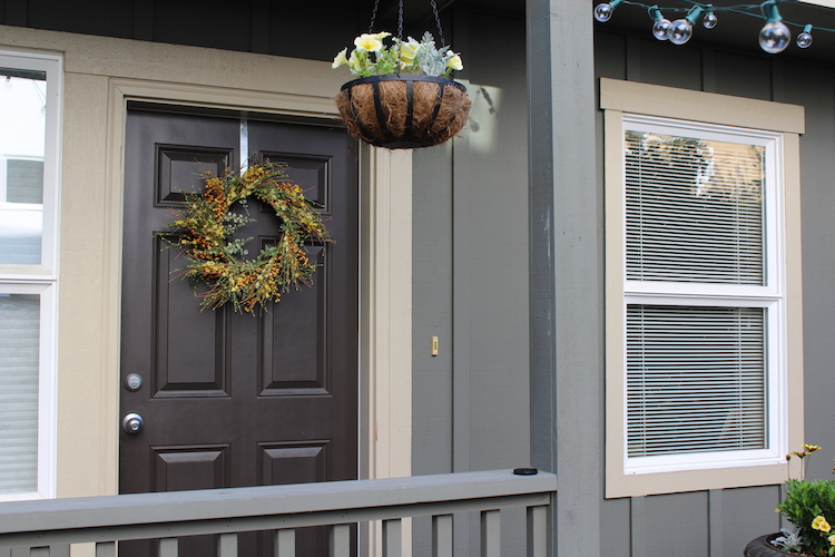 Dagmar's front porch