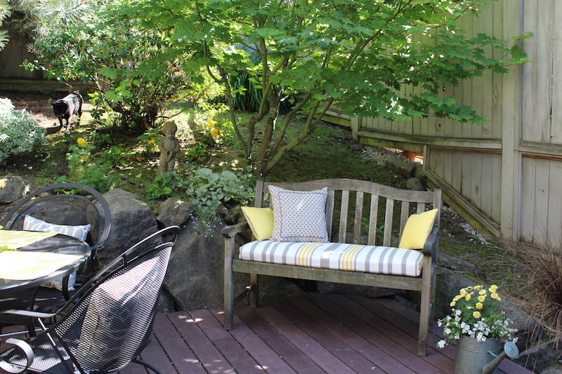 Dagmar's patio bench