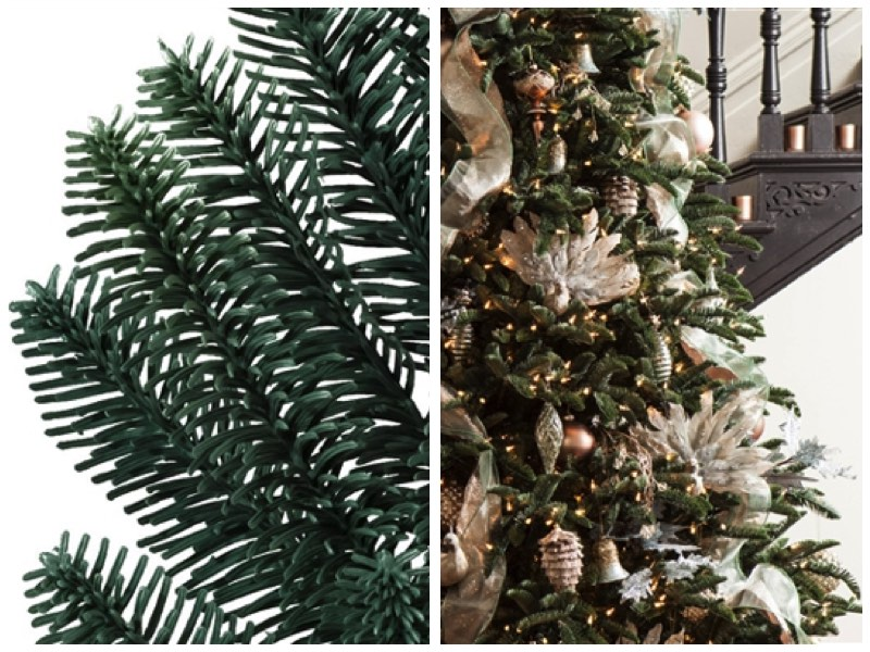 bh noble fir from balsam hill - Most Realistic Christmas Trees