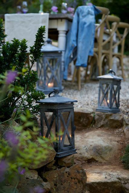 Illuminate paths with lanterns