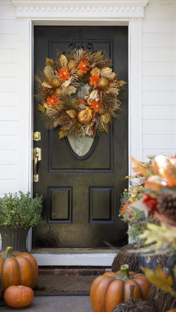Pumpkin Festival Autumn Wreath