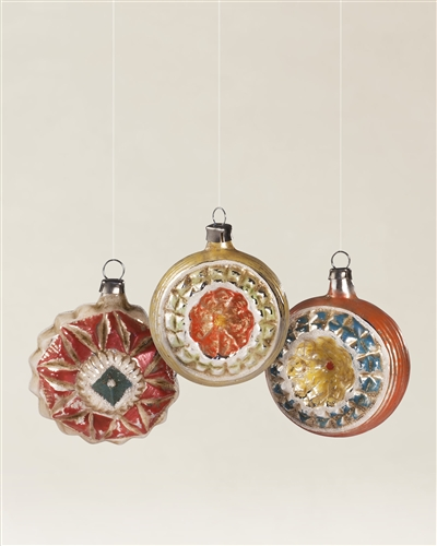 Exquisitely made Antique Blown Glass Ornaments