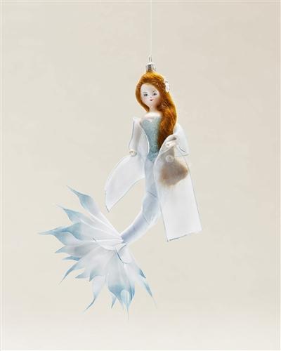 Graceful and beautiful mermaid ornament