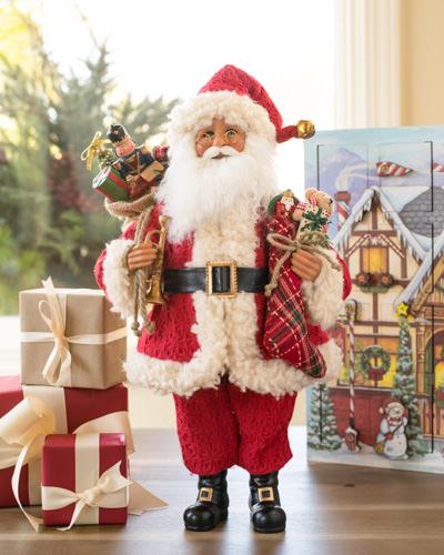 Balsam Hill's Karen Didion Vintage Toy Santa