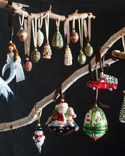 Balsam Hill's collection of exquisite glass ornaments