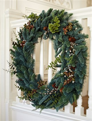 Balsam Hill's Mountain Meadow Wreath