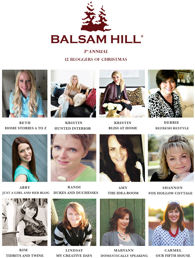 12 Bloggers of Christmas & Giveaway Winners | Balsam Hill Balsam ...