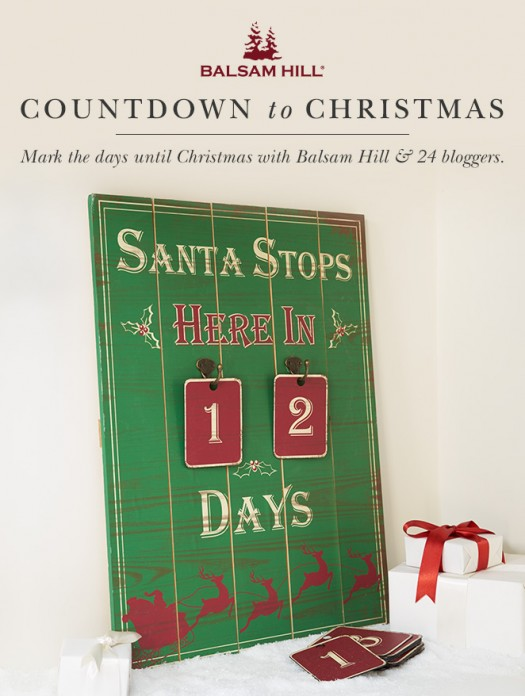 balsam hills countdown to christmas giveaway - Countdown Till Christmas Decoration