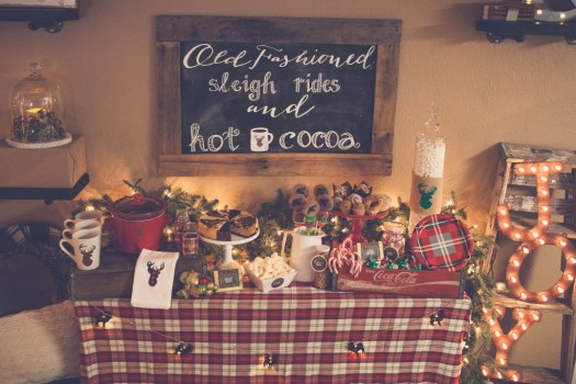 DIY Christmas Bar