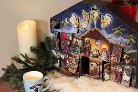 The Nativity calendar serves as a good reminder of the reason for the season