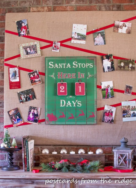 Countdown to Christmas Board