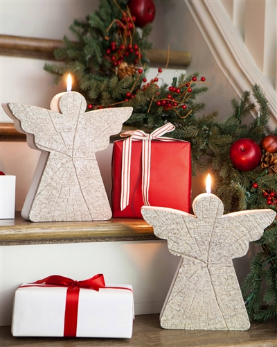 Angel Decorative Christmas Candles