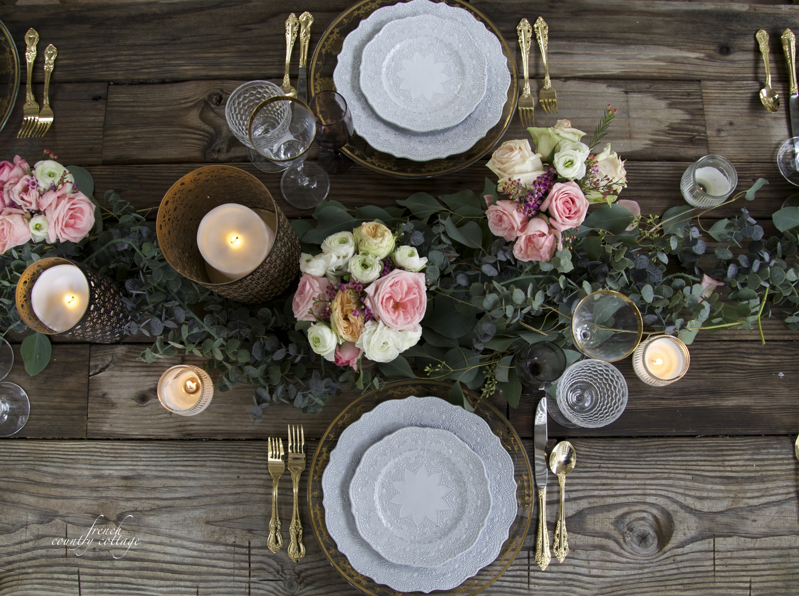 A Romantic Table Setting For Valentine S Day Balsam Hill