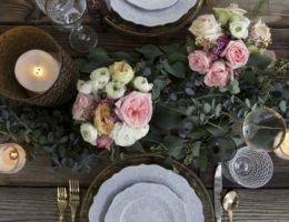 Floral Valentine Tablescape