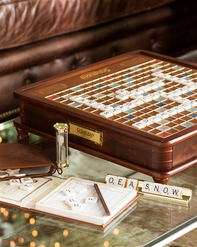 Balsam Hill's Luxury Edition Scrabble Board Game