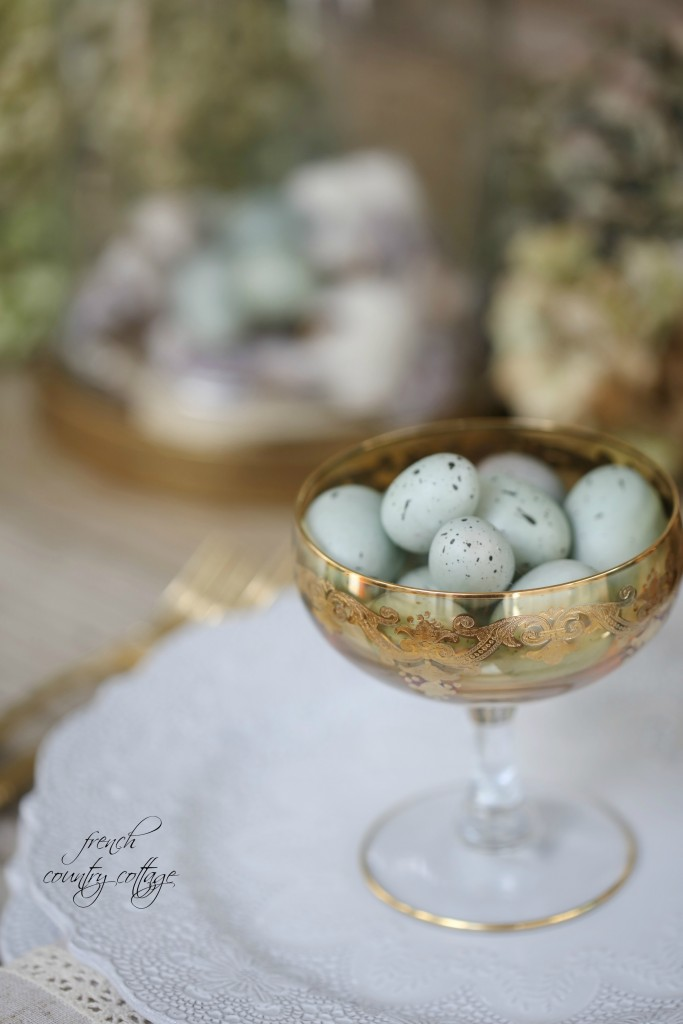 Pastel Eggs for Easter Table