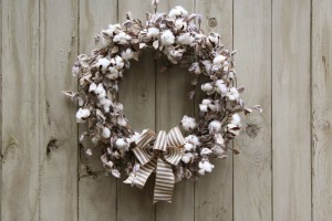 Cotton Pick Wreath 023e