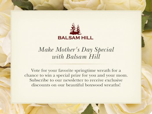Make Mother's Day Special with Balsam Hill