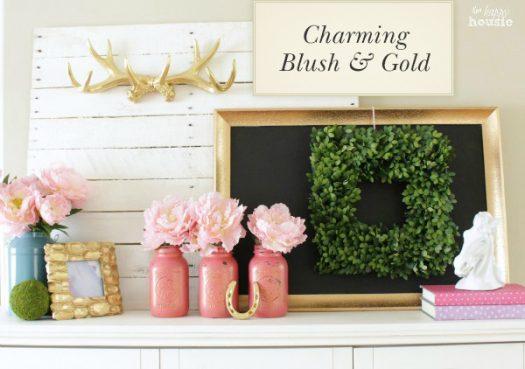 Charming Blush & Gold