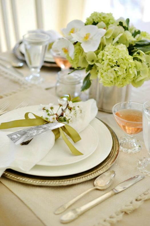 At The Picket Fence tablescape