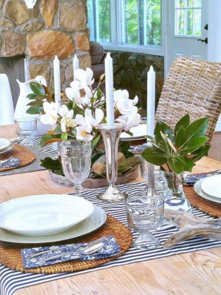 Tablescape from Duke Manor Farm