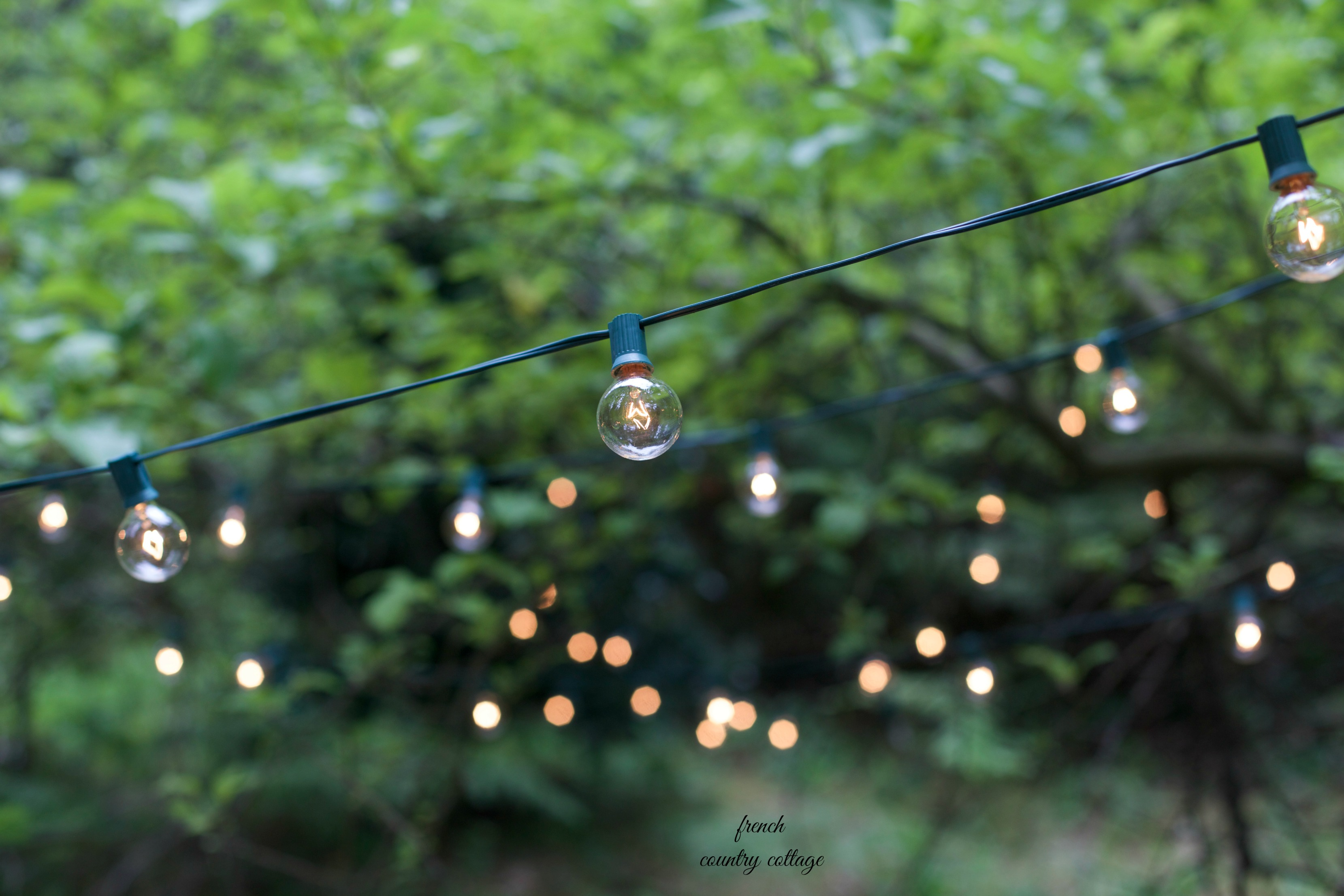 Globe Cafe String Lights give a radiant glow