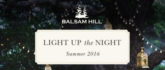 Balsam Hill's Light Up The Night Campaign