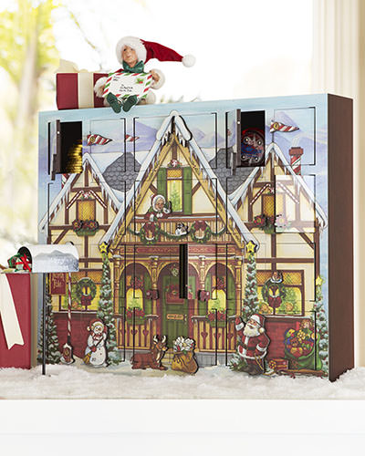 Balsam Hill's North Pole Musical Advent Calendar